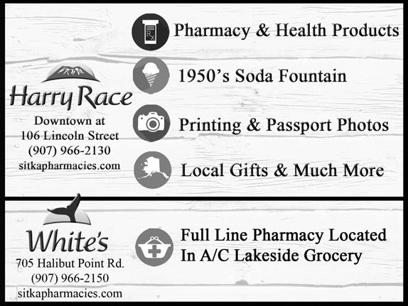 harry race pharmacy photo sitka harbor guide - Lebenslauf Abgebrochenes Studium