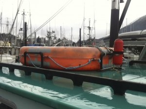A type of buoyant apparatus commonly found in Sitka.